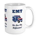 EMT We Are The Difference Large Mug