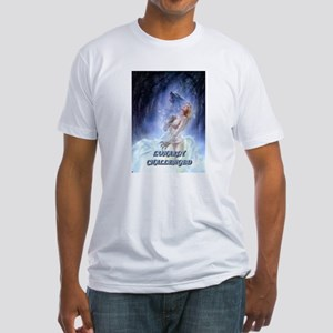 WEREWOLF LUNARLY CHALLENGED Fitted T-Shirt