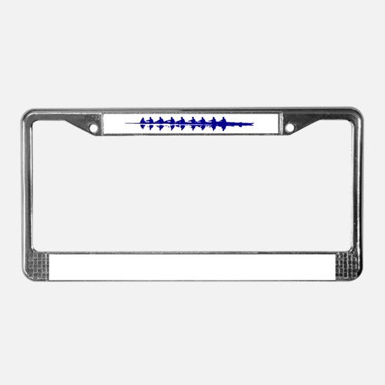 BLUE CREW License Plate Frame