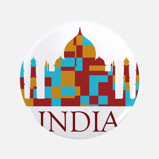 "taj mahal 3.5"" Button (100 pack)"