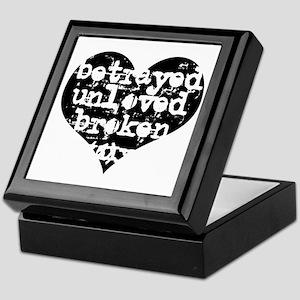 Betrayed Keepsake Box