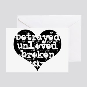 Betrayed Greeting Cards (Pk of 10)