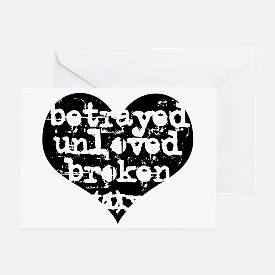 Betrayed Greeting Cards (Pk of 10)
