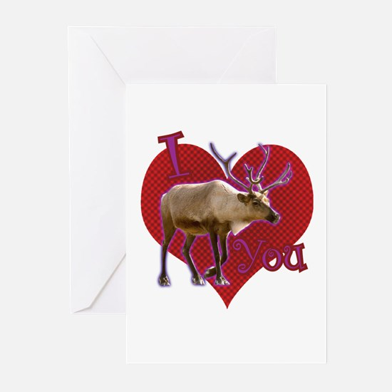 I [caribou] You! Greeting Cards (Pk of 20)