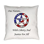 One Nation Pagan Everyday Pillow