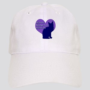 Maine Coon Heart Cap