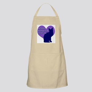Maine Coon Heart BBQ Apron
