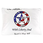 One Nation Pagan Pillow Case