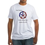 One Nation Pagan Fitted T-Shirt