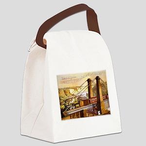 Niagara Falls Canvas Lunch Bag