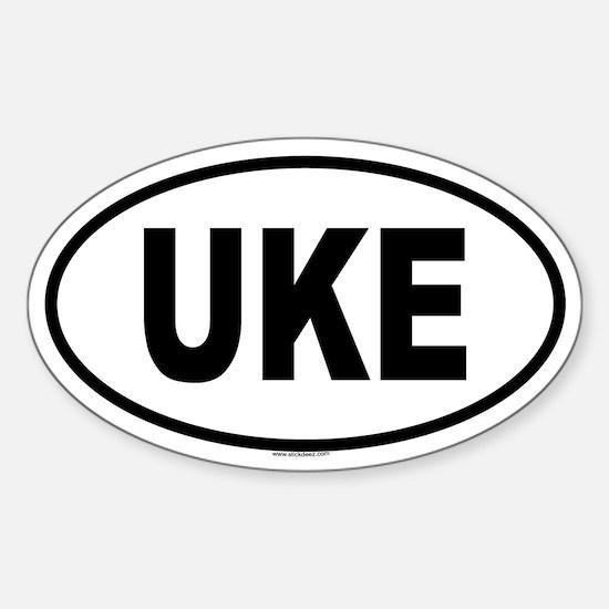 UKE Oval Decal
