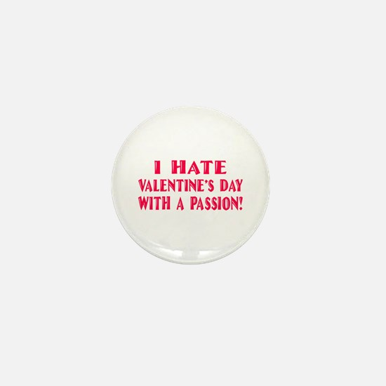 Hate With a Passion Mini Button