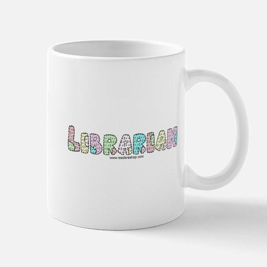 Librarian Patchwork Mug