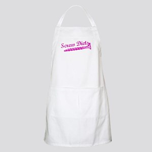 Screw Diets BBQ Apron