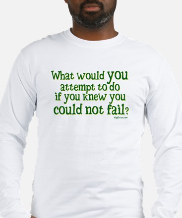 What Would Long Sleeve T-Shirt