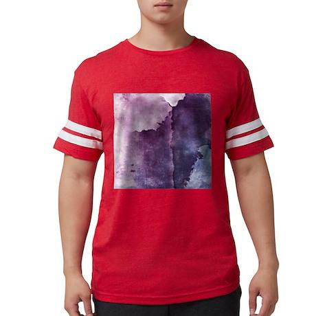 Ultra Violet Blue Wash Mens Football Shirt