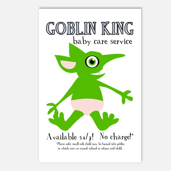 Goblin King Baby Care Postcards (Package of 8)