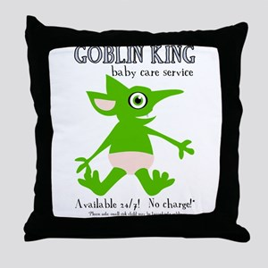 Goblin King Baby Care Throw Pillow