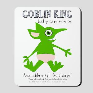 Goblin King Baby Care Mousepad