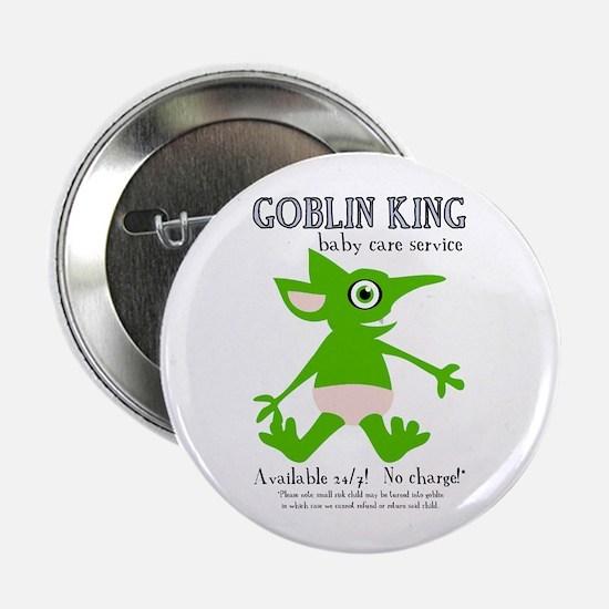 """Goblin King Baby Care 2.25"""" Button"""