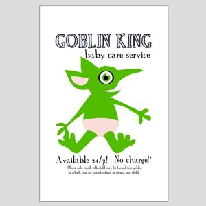 Goblin King Baby Care Large Poster
