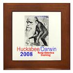 Huckabee/Darwin Framed Tile