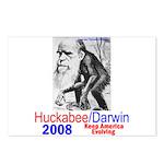 Huckabee/Darwin Postcards (Package of 8)