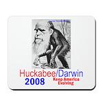 Huckabee/Darwin Mousepad
