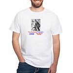 Huckabee/Darwin White T-Shirt