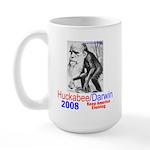 Huckabee/Darwin Large Mug