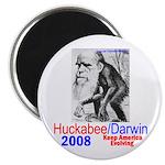 Huckabee/Darwin Magnet