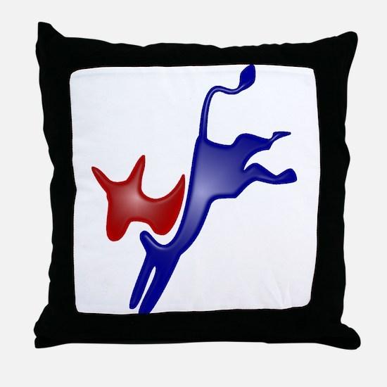 Democrat Throw Pillow