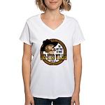 One-Eyed Willy's Women's V-Neck T-Shirt