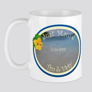 Tim and Vicky Just Maui'd Mug