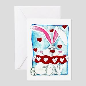 Honey Bunny Love Greeting Card