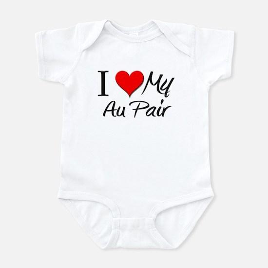I Heart My Au Pair Infant Bodysuit