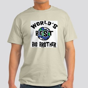 World's Best Big Brother Light T-Shirt