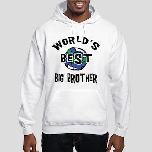 World's Best Big Brother Hooded Sweatshirt