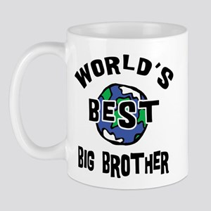 World's Best Big Brother Mug