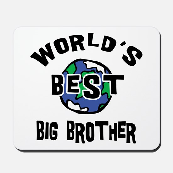 World's Best Big Brother Mousepad