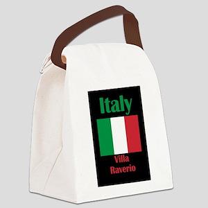 Villa Raverio Italy Canvas Lunch Bag