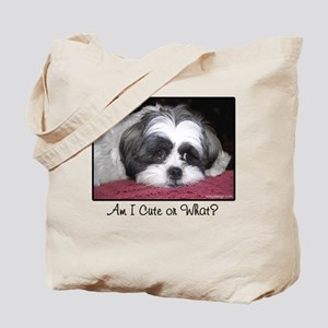 Cute Shih Tzu Dog Tote Bag