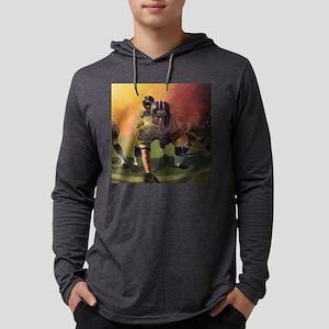 Football Players Painting Long Sleeve T-Shirt