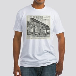 Elevated Street Railway New York T-Shirt