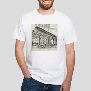 Elevated Street Railway New York T-Shirt