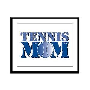 Tennis Mom Framed Panel Print
