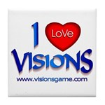 Visions Tile Coaster
