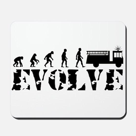 Fireman Evolution Mousepad