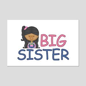 Big Sister Girl Mini Poster Print