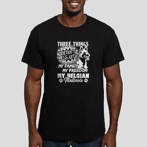 Three Things With My Belgian Malinois Shir T-Shirt